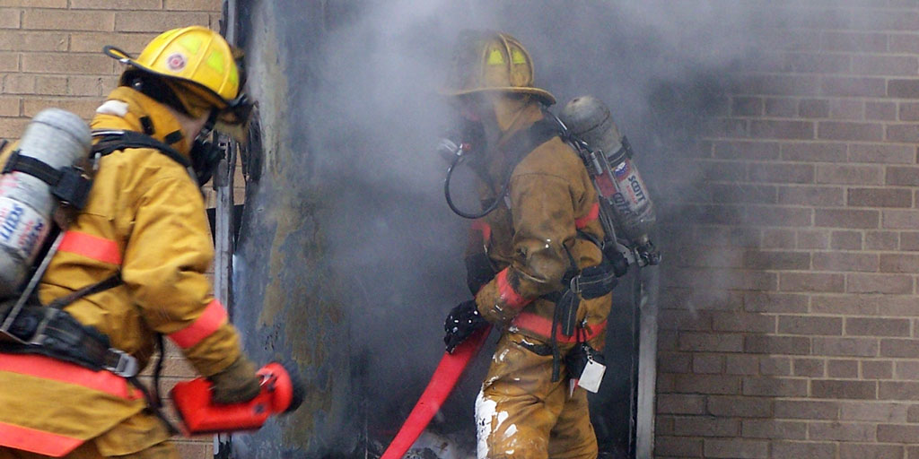 Boardman Township firefighters