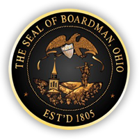 The Seal of Boardman, Ohio Est'd 1805