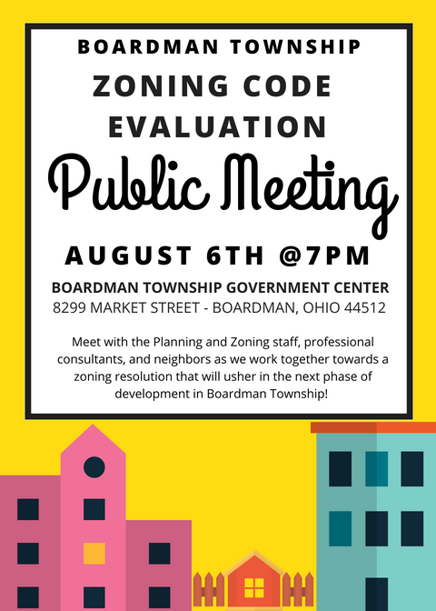 Zoning Code Meeting Flyer